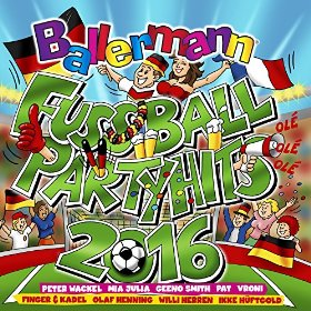 Ballermann Fussball Party Hits 2016