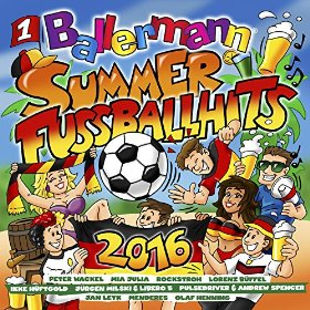 Ballermann Summer Fussball Hits 2016